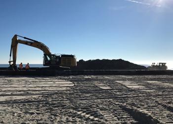 Beach Construction for Renourishment Program