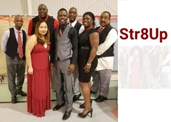 image of the band str8up - straight up