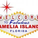 welcome to amelia island spoof sign