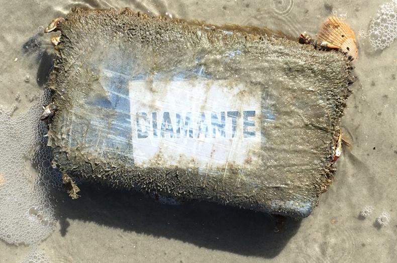 Brick of cocaine
