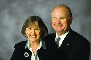 Delores and Wayne Weaver