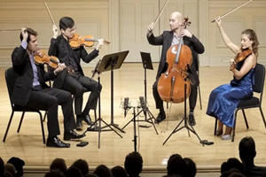 Dover String Quartet with Cellist Christopher Rex in Concert